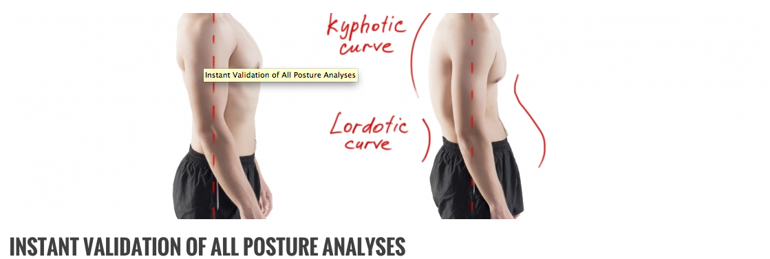 Up to 90% of healthcare professionals perform posture evaluations incorrectly!